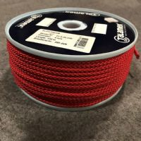 Red 4mm Polypropylene Slipstream Cord